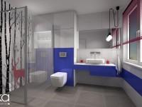 łazienka hipstera